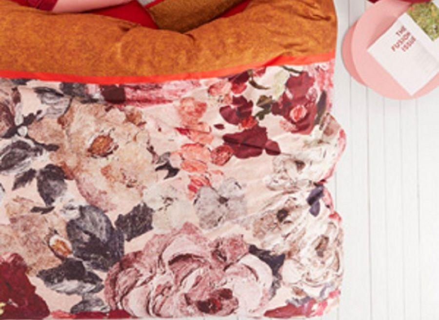 Oilily - Mellow rose/red dekbedovertrek