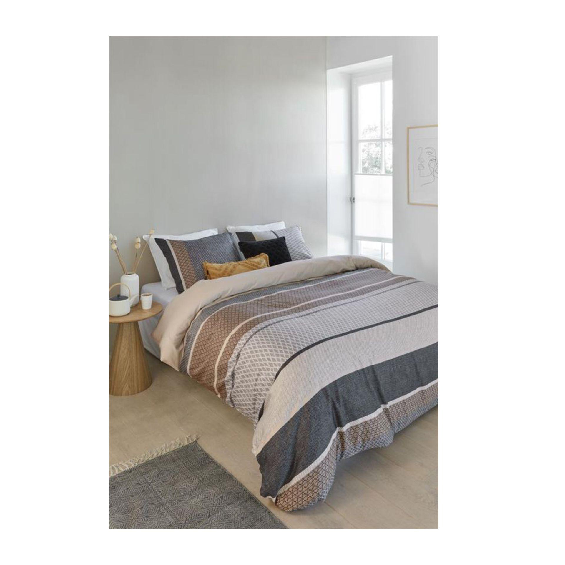 Beddinghouse - Lian grey dekbedovertrek