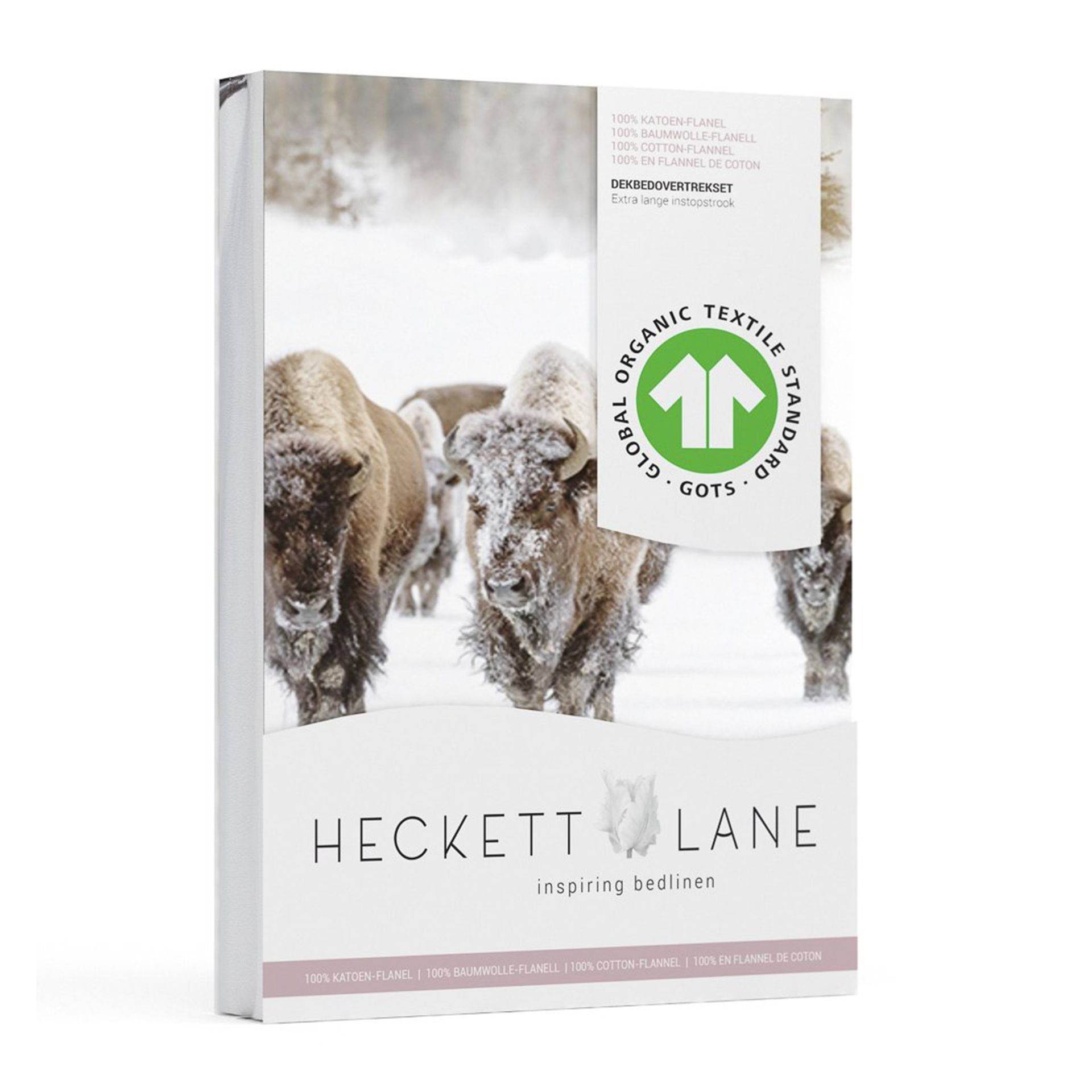 Heckettlane - Obrien natural Dekbedovertrek