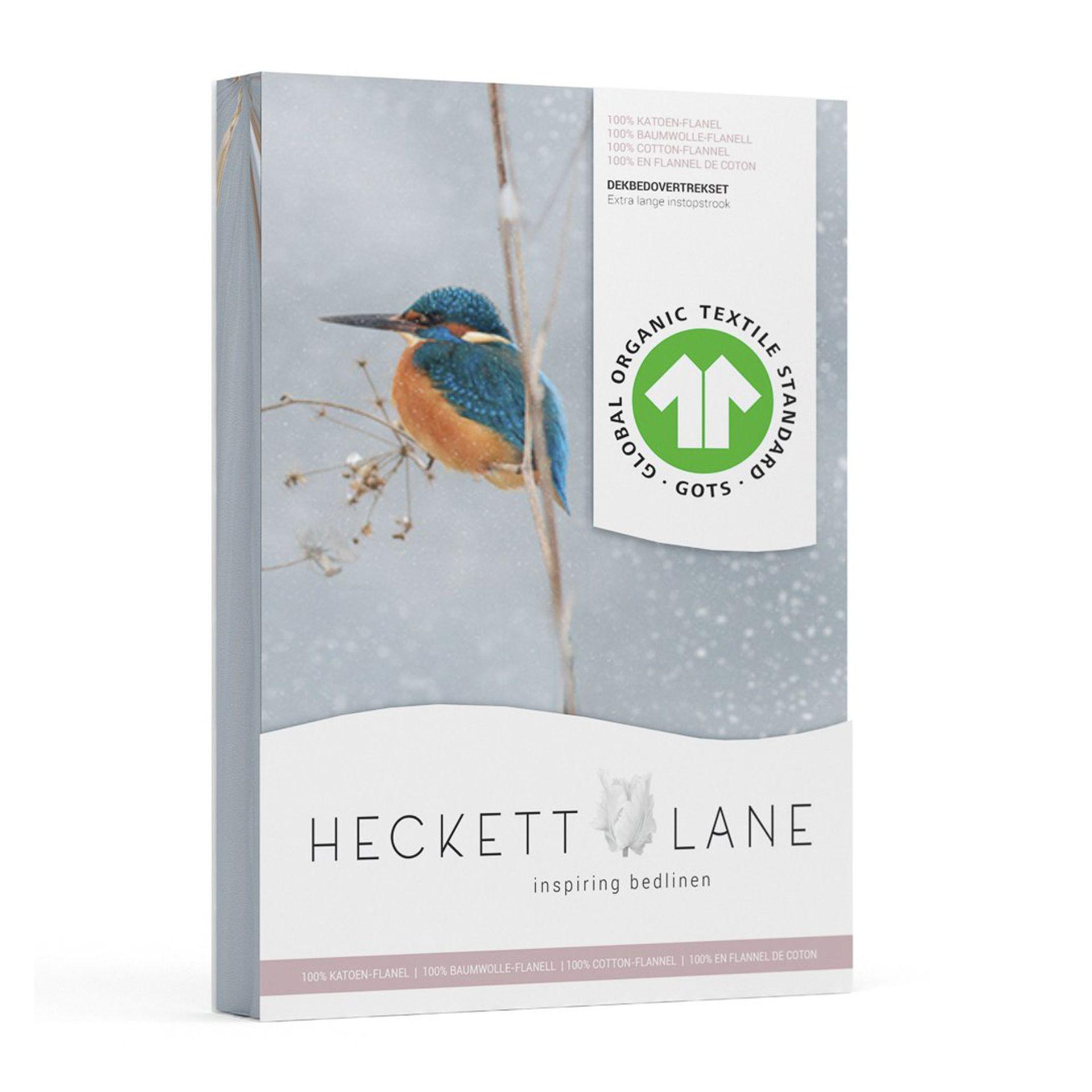 Heckettlane - Cavaller silver grey Dekbedovertrek