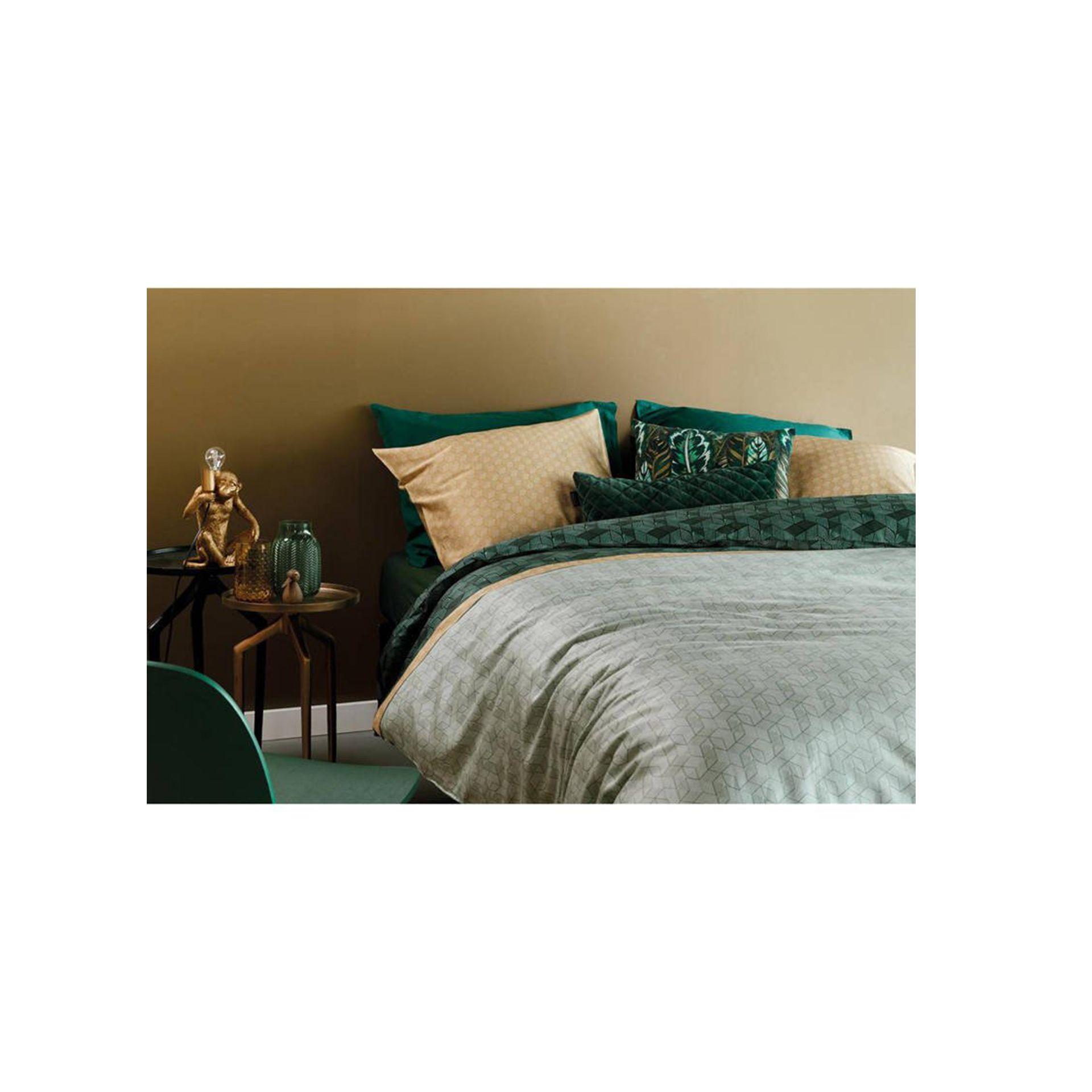 Beddinghouse - Grunnar green dekbedovertrek