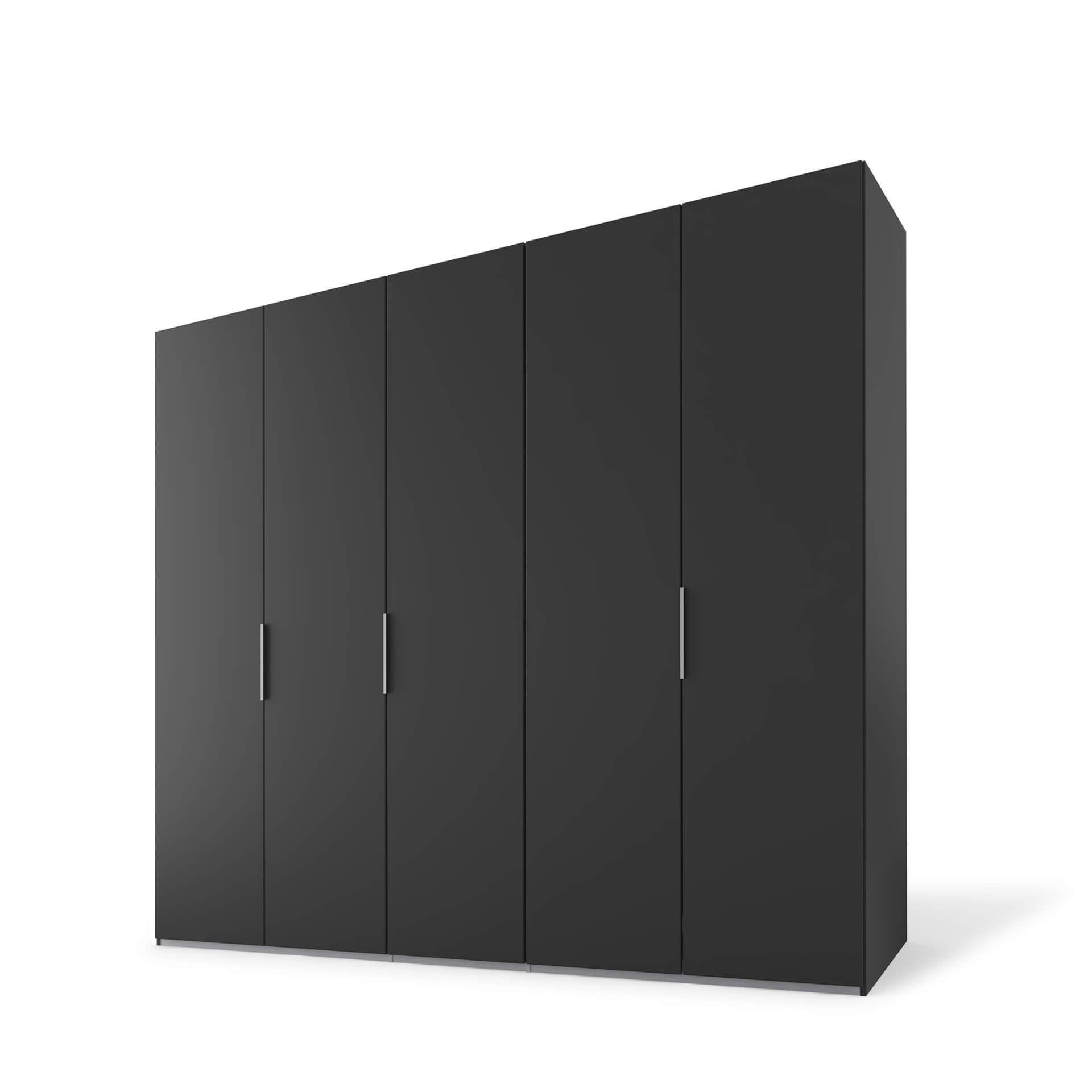 Nolte swift Draaideurkast - 5 deurs Basalt