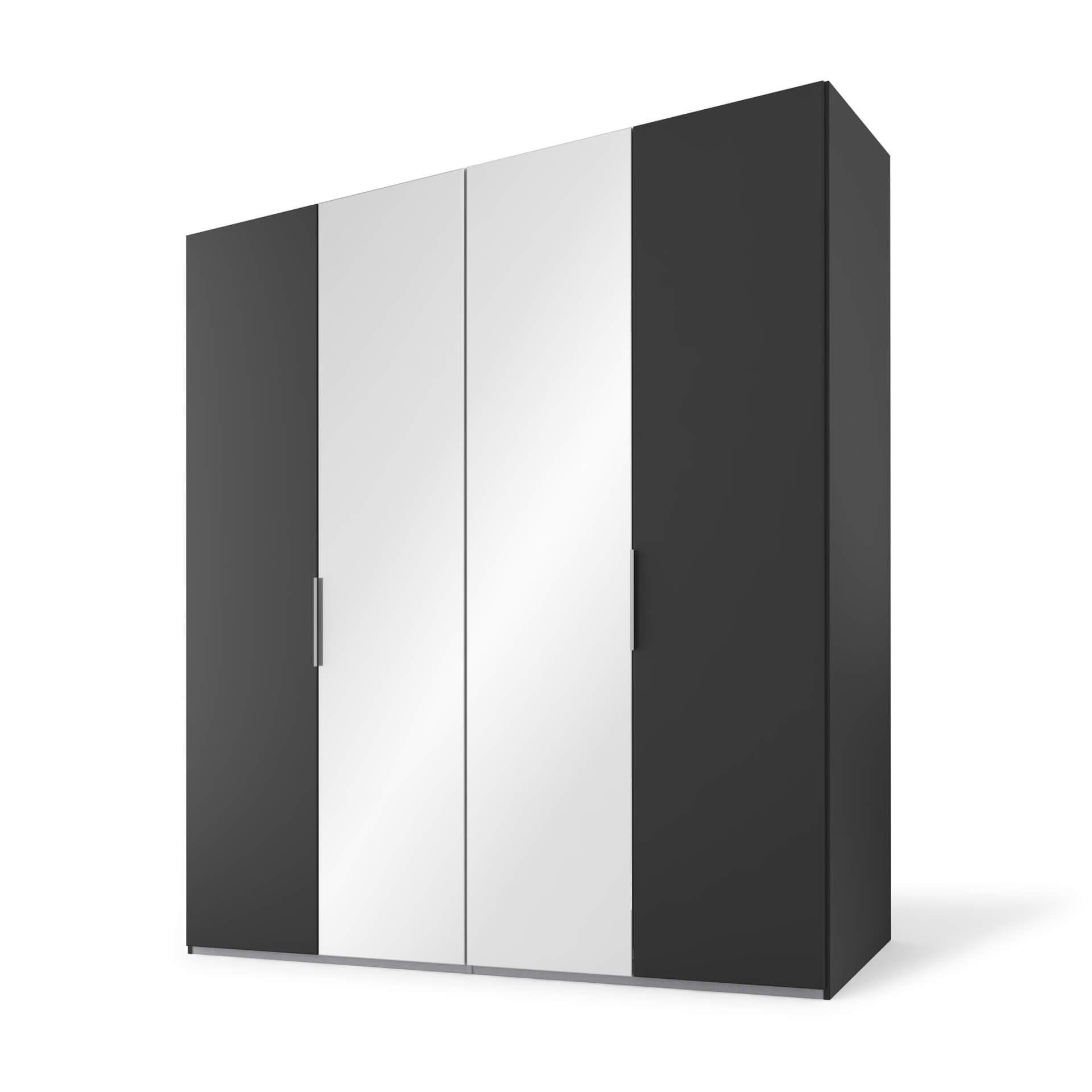 Nolte swift Draaideurkast - 4 deurs Basalt met spi