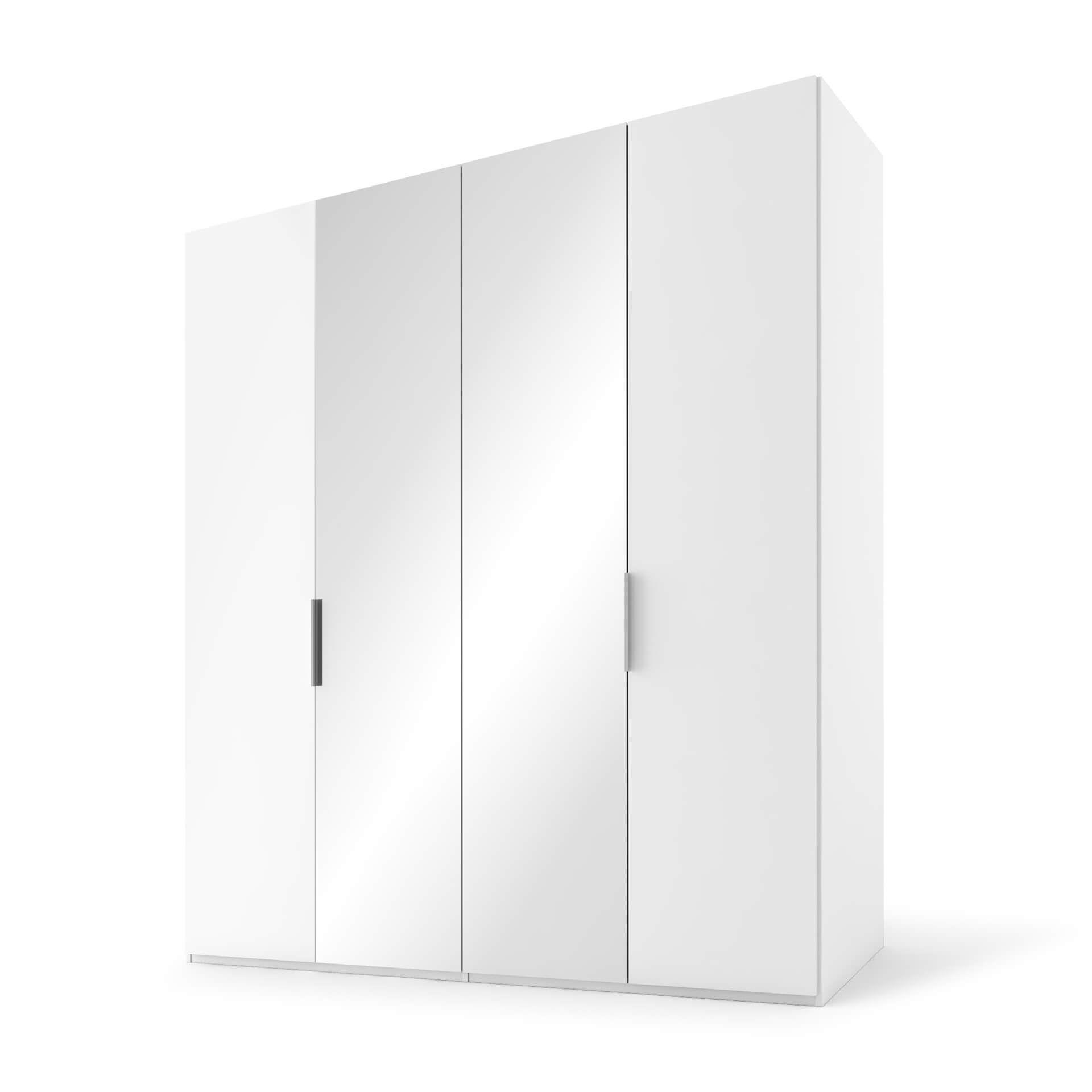 Nolte swift Draaideurkast - 4 deurs Poolwit met sp