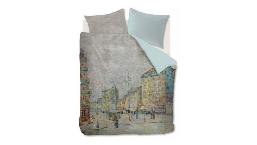 Beddinghouse x van Gogh Museum - Boulevard Grijs