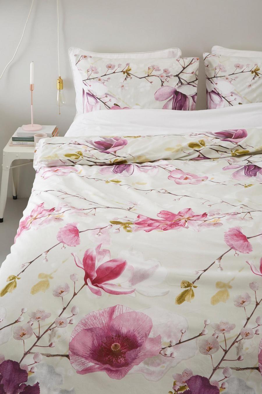 Heckettlane - Helena roze dekbedovertrek