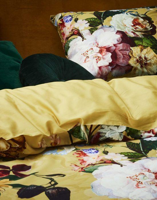 Essenza Fleur - Dekbedovertrek - Golden Yellow