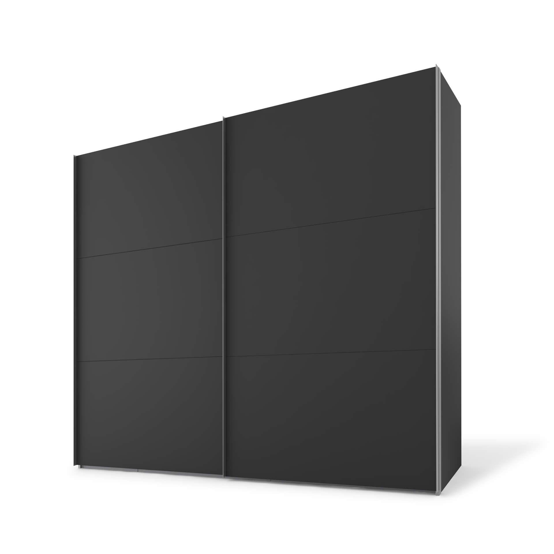 Nolte swift Schuifdeurkast - 2 deurs 150 cm Basalt