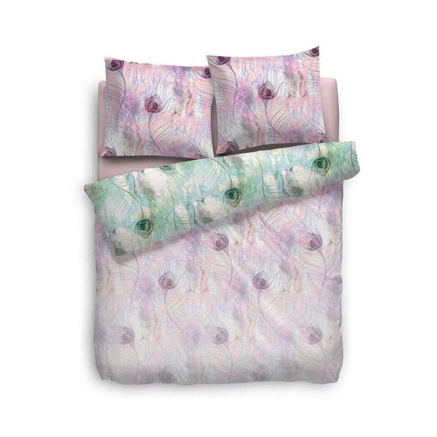 Heckettlane - Irene roze dekbedovertrek