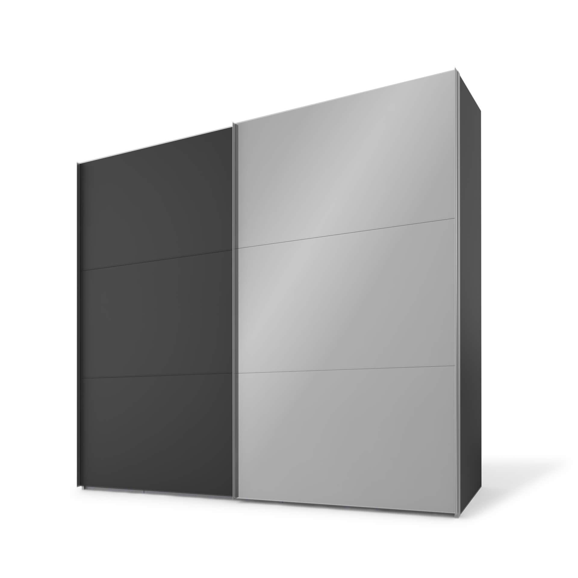 Nolte swift Schuifdeurkast - 2 deurs 250 cm Basalt