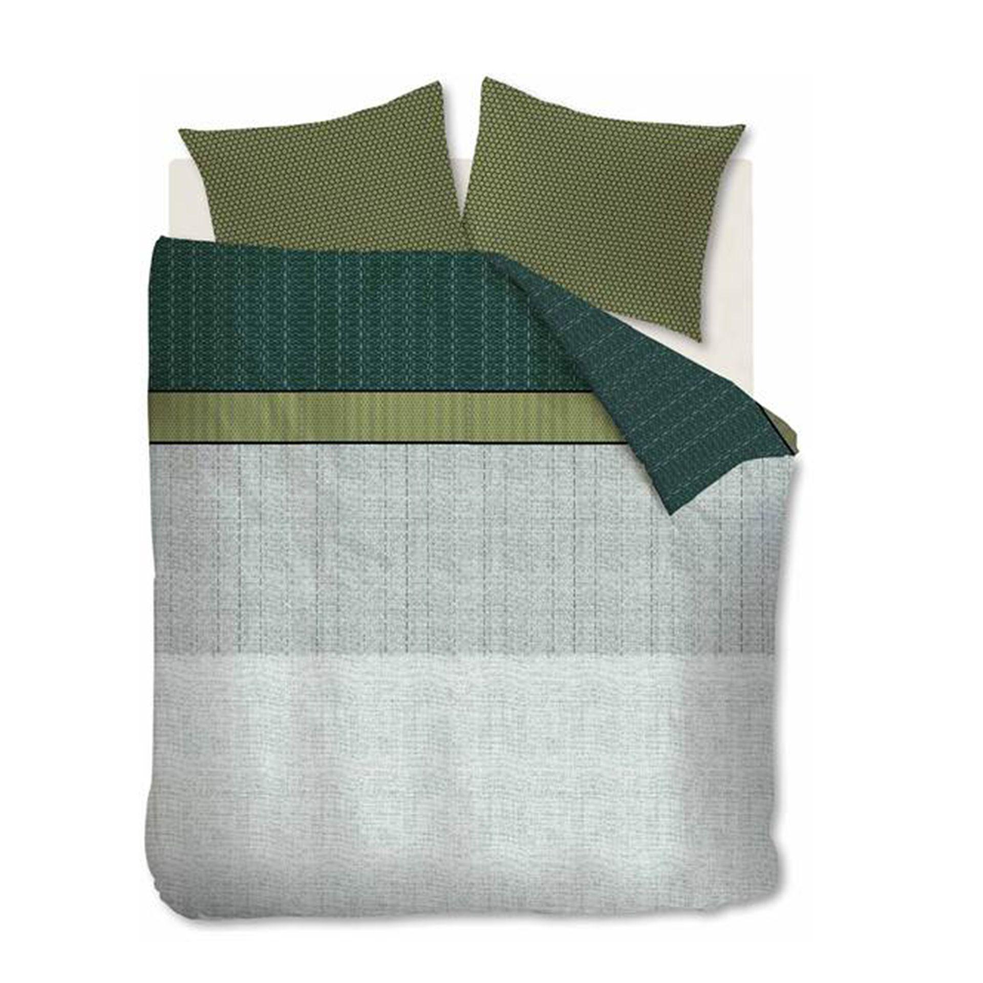 Beddinghouse - Camaro green dekbedovertrek