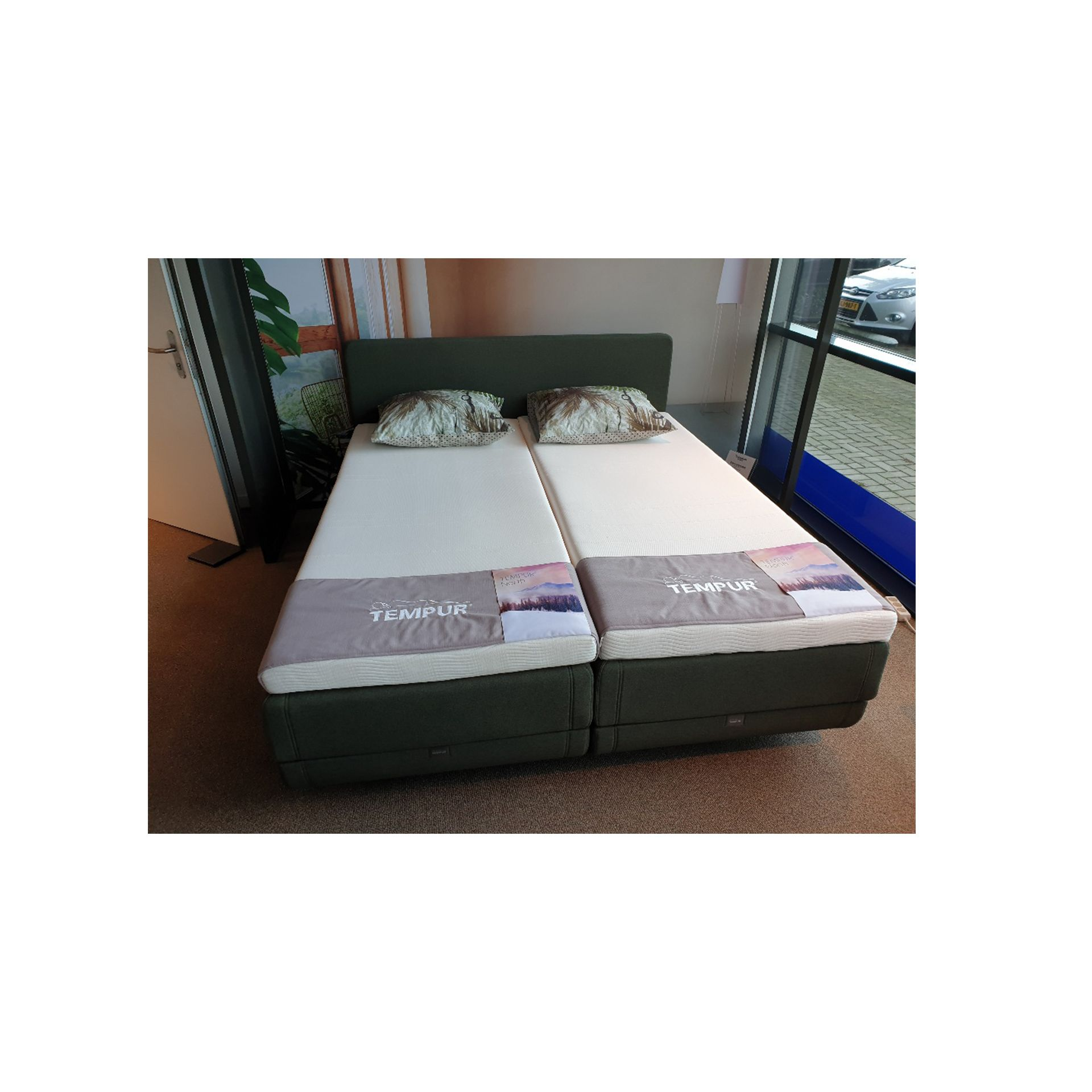 Tempur North Boxspring Elektrisch - Showroommodel