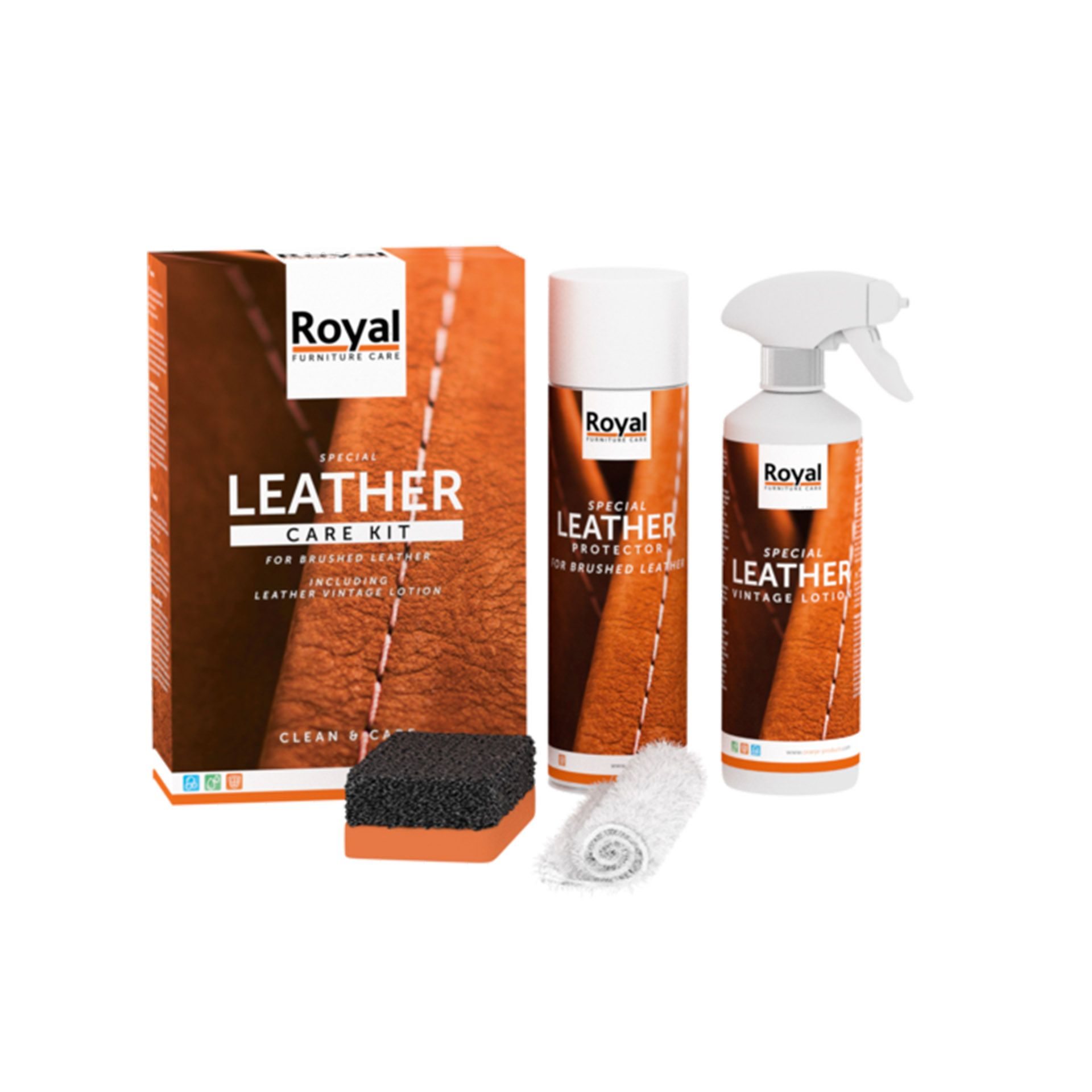 Leather Care Kit - Brushed & Vintage Leather