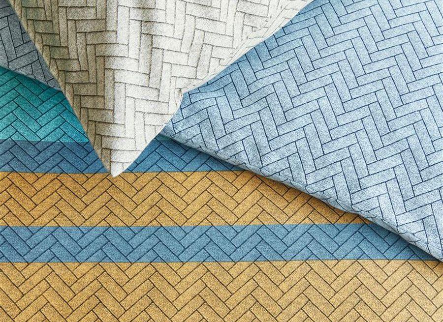 Beddinghouse - Linee blue dekbedovertrek