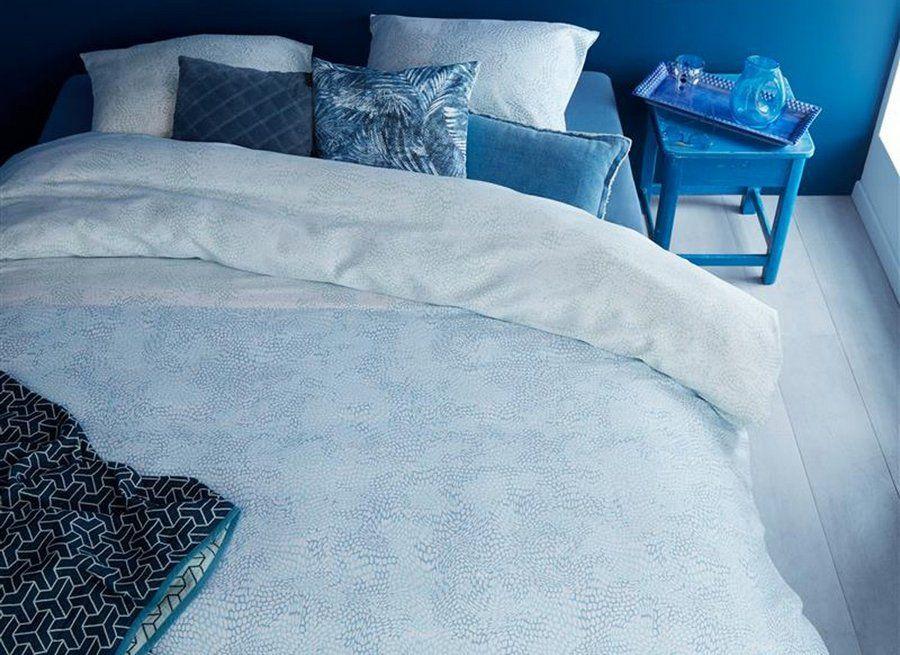 Beddinghouse - Impress Blue dekbedovertrek