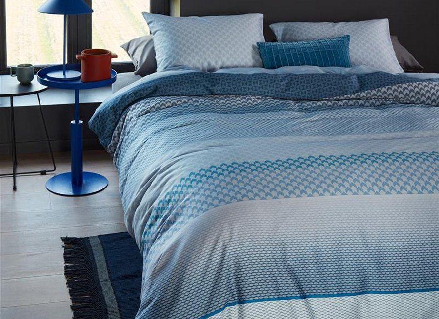 Beddinghouse - Erland blue dekbedovertrek