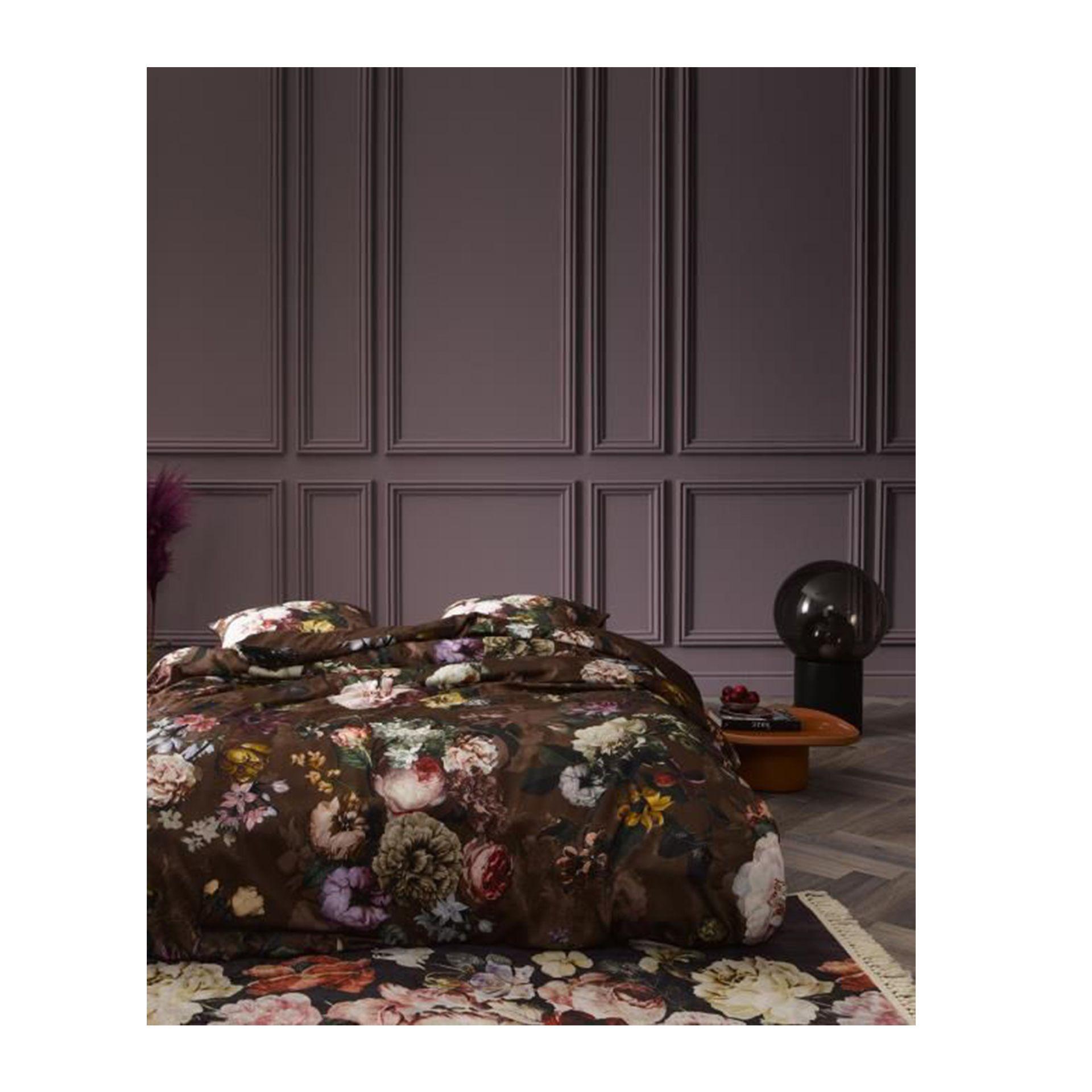 Essenza Fleur - Dekbedovertrek - Chocolate