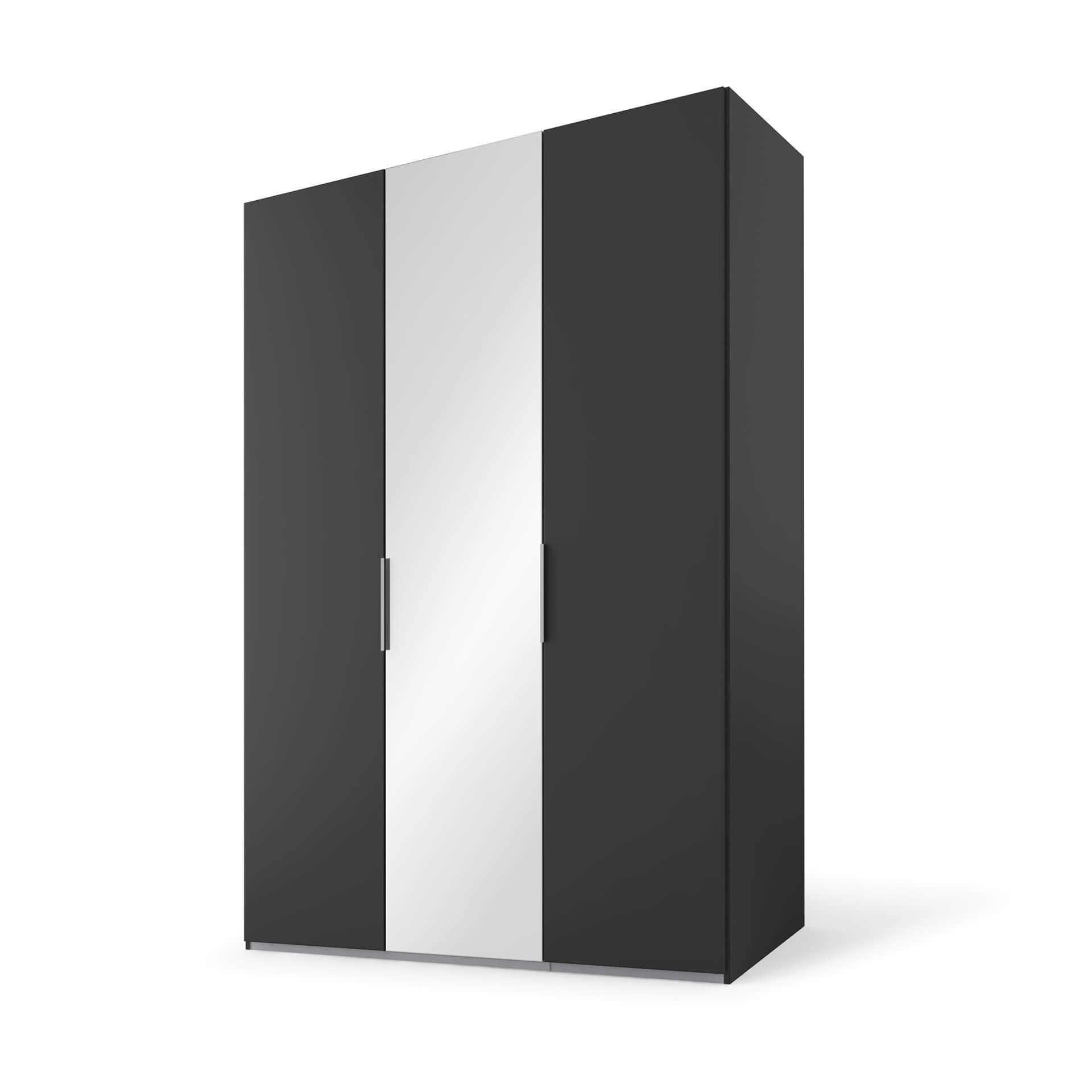 Nolte swift Draaideurkast - 3 deurs Basalt met spi