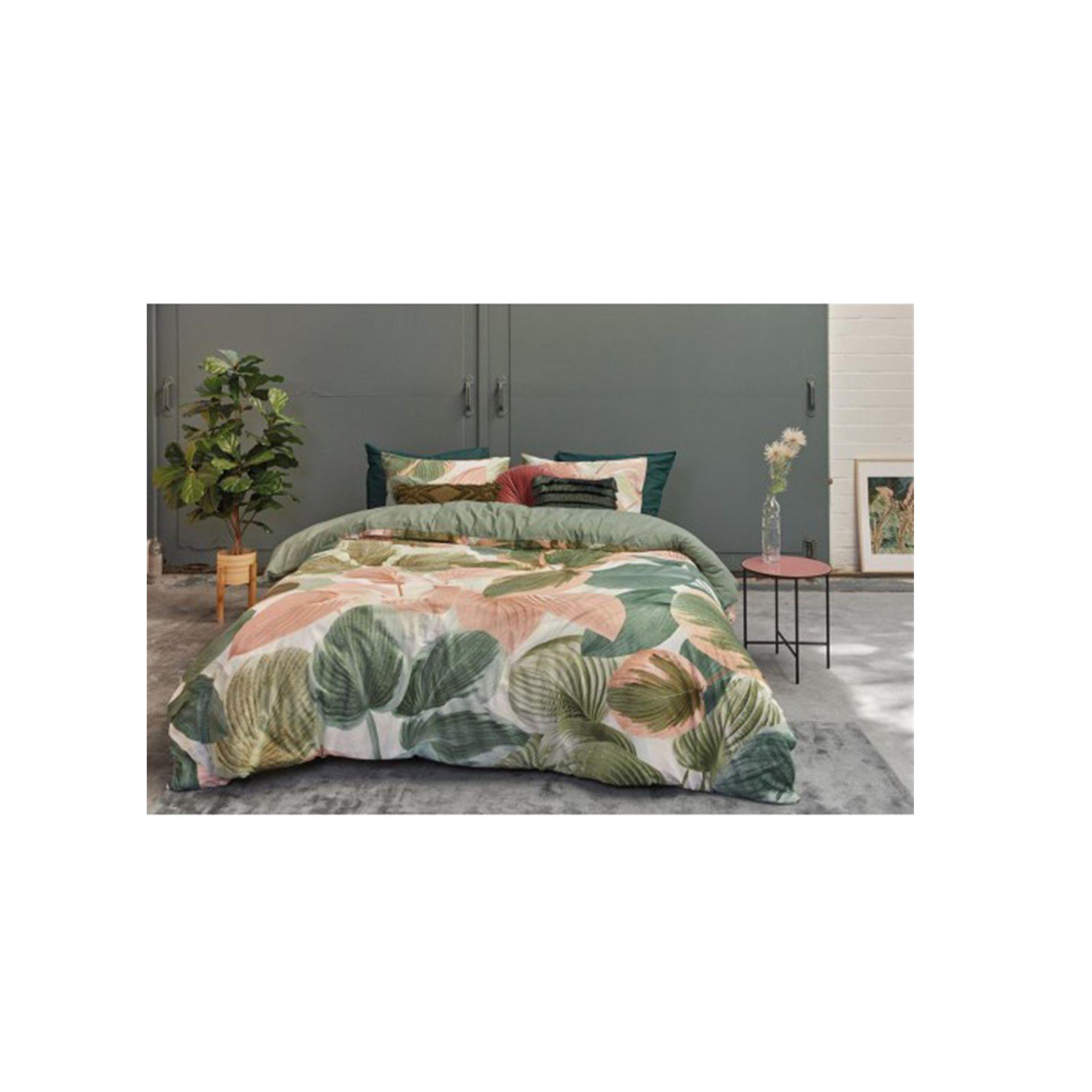 Beddinghouse - Hosta green dekbedovertrek