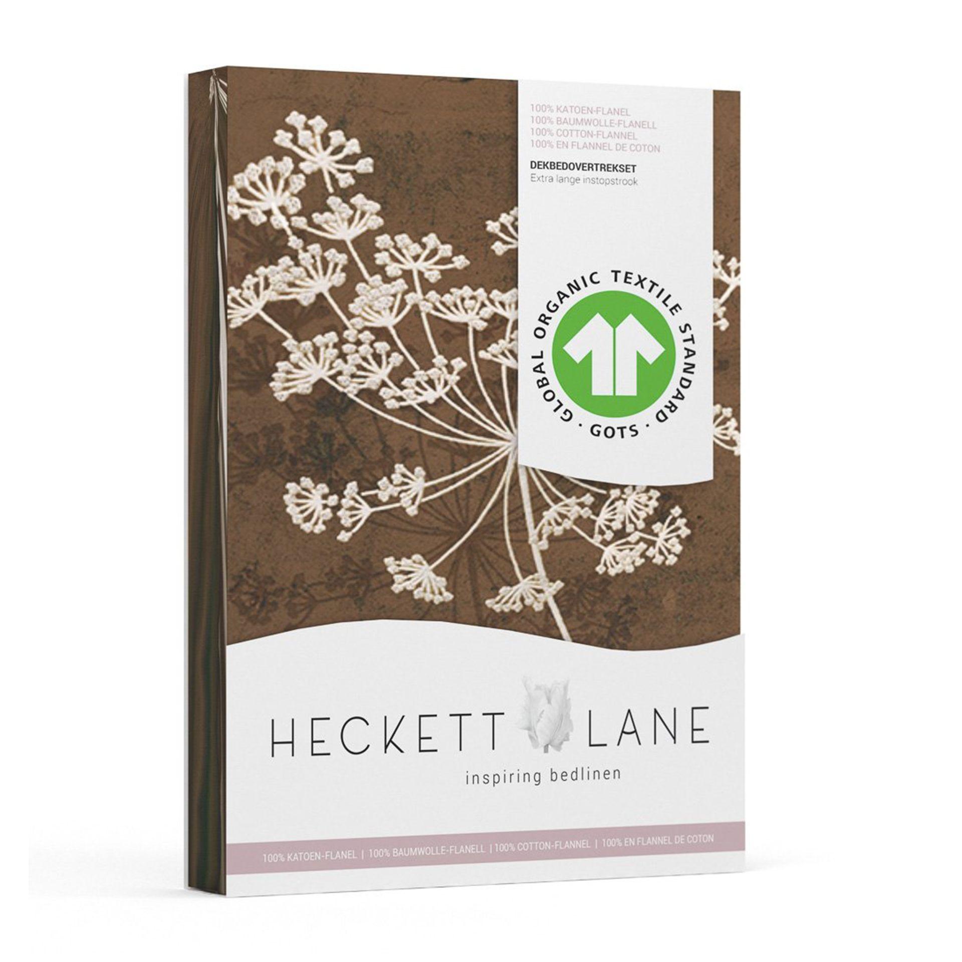 Heckettlane - Charlotte chocolate Dekbedovertrek