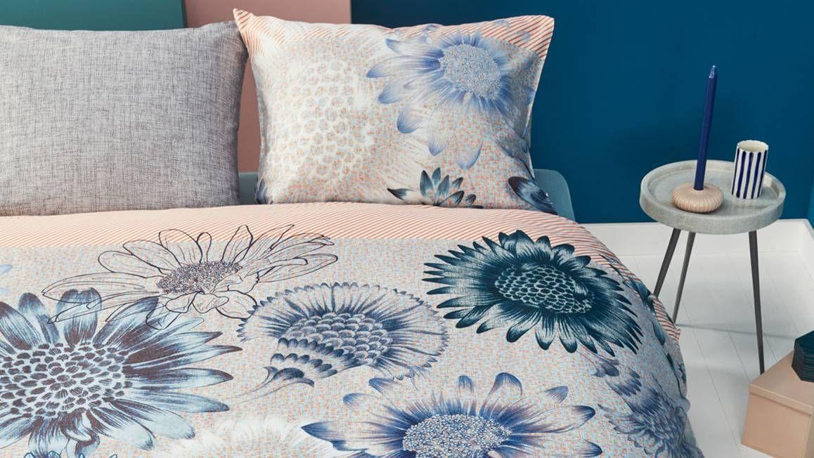 Oilily - Sunflowers blue dekbedovertrek