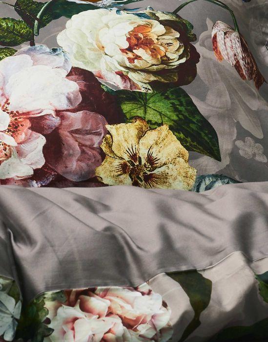 Essenza Fleur - Dekbedovertrek - Taupe
