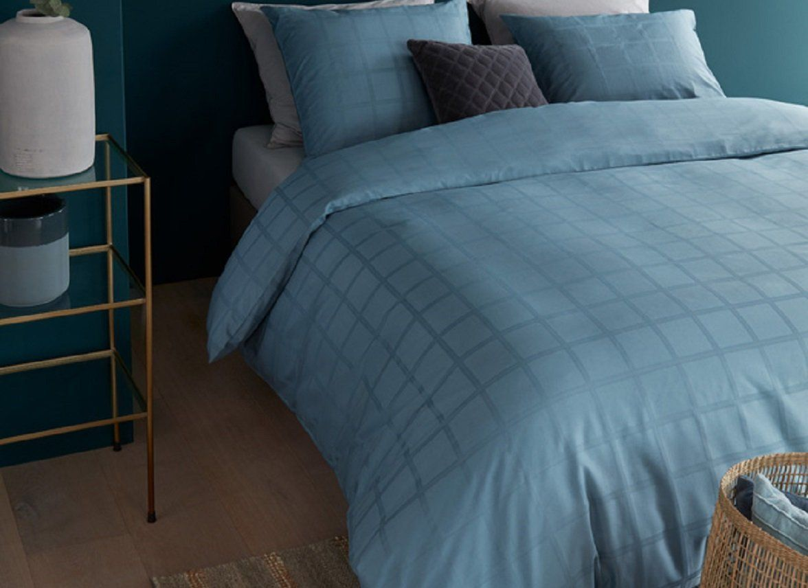 Beddinghouse - Rain blue dekbedovertrek